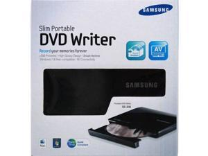 Samsung Slim USB Portable DVD-CD External Writer SE-208DB/TSBS