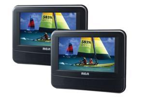RCA DRC69705 7-Inch LCD Dual Screen Mobile DVD Player DRC69705E22