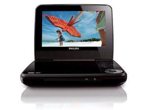 Philips Pet741b Portable DVD Player 7 inch Free Region