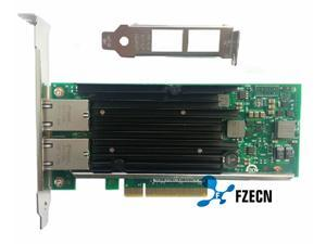 Intel chipset X540-T2 10G Dual RJ45 Ports PCI-E Ethernet Network Adapter