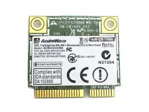 AzureWave AW-CB160H BCM94360HMB 1300Mbps 802.11ac WLAN+Bluetooth 4.0 Mini PCI-E
