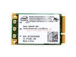 Intel PRO Wireless N WiFi Link MiniPCI Card 4965AGN MM1 TESTED