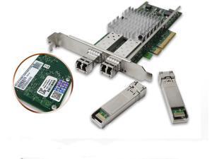 Intel X520-DA2 10Gbps Dual Port E68793-xxx E10G42BTDA 4x SFP FTLX8571D3BCV-IT