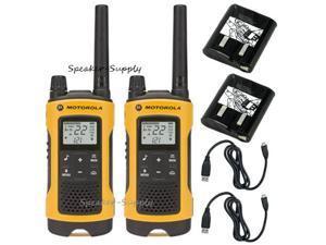 Motorola Talkabout T400 Walkie Talkie Set 35 Mile Two Way Radio iVOX Hands Free