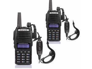 2x Baofeng UV-82L 136-174/4??00-520 MHz FM Ham Two-way Radio Walkie Talkie