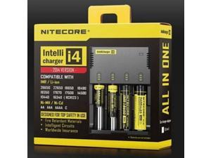 NiteCore i4 Intellicharge Universal Battery Charger CR123A 26650 18650 AA/AAA