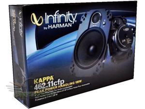 "Infinity KAPPA 462.11cfp 4 X 6 "" 2-Way CAR AUDIO COAXIAL SPEAKERS"