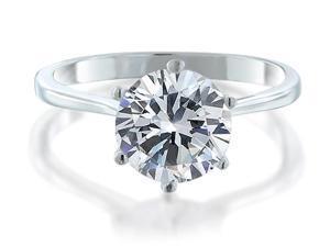 2.00 CT Round Cut Women's Diamond Engagement Ring