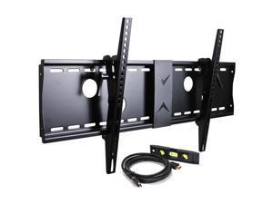VideoSecu Heavy Duty Bracket Tilt TV Wall Mount for most Samsung 37 39 40 42 47 49 50 55 60 65 70 inch LED LCD UHD HDTV Plasma Flat Panel Screens Displays 3KR