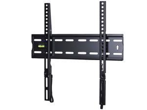 VideoSecu Flat TV Wall Mount for Sharp Sony 32 39 40 42 46 47 48 49 50 inch LCD LED UHD HDTV Plasma, Low Profile Bracket with Max VESA 400x400mm, Loading 110lbs 1RX
