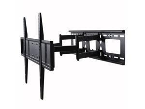 "VideoSecu Dual Arm Full Motion TV Wall Mount 40 46 47 49 50 55 60"" LCD LED HDTV Plasma for Sony XBR-55X800B KDL60R510A KDL-60R510A Tilt Swivel TV Mount Bracket with VESA 600x400, loading 135lbs BK7"