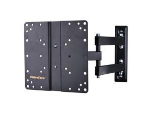 VideoSecu Tilt Swivel TV Wall Mount for 22 24 26 27 28 29 30 32 37 39 40 inch Samsung VIZIO Insignia AOC JVC LCD LED TV Monitor Bracket with VESA 200x200, loading 44lbs, Heavy Duty/ Long Extension B65