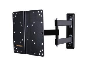 VideoSecu Articulating TV Monitor Wall Mount Swivel Tilt Extend Bracket for Insignia 24 28 32 39 40 inch LCD LED HDTV NS-28D310NA15 NS-28DD310NA15 NS-29D310NA15 NS-32D311NA15 NS-32D512NA15 B65