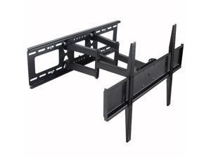 "VideoSecu Tilt Swivel TV Wall Mount for Samsung 32 40 46 47 49 50 55 60"" LCD LED Plasma HDTV, Full Motion Articulating TV Mount Bracket with VESA 600x400/ 400x400mm - Level Adjustment BK7"