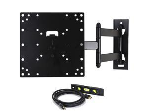 VideoSecu Tilt Swivel TV Wall Mount for VIZIO 22 24 26 28 29 32 37 39 40 42 inch E420d-A0 E420i-A0 E420i-A1 E420I-B0 E421VO E422VLE LCD LED HDTV Articulating TV Monitor Mount Bracket AB4