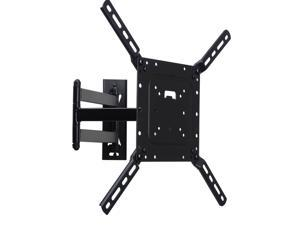 VideoSecu Full Motion Articulating TV Wall Mount for most Samsung 32 39 40 43 46 48 50 inch LCD LED HDTV Plasma, Tilt Swivel TV Mount Bracket with VESA 400x400/ 200x200mm CB6