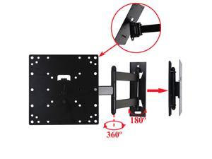 "VideoSecu Tilt Swivel Full Motion TV Monitor Wall Mount for most 22 24 27 28 29 32 37 39 42"" LCD LED UHD HDTV, Articulating Arm Heavy Duty TV Bracket with loading 66lbs, VESA 200x200/ 100x100mm 3KB"
