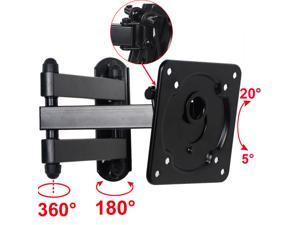 "VideoSecu Full Motion Tilt Swivel Articulating Arm TV Wall Mount Bracket for most 15 17 19 22 23 24 26 27 29"" Samsung VIZIO Sansui DELL Monitor LCD LED HDTV with VESA 75x75/ 100x100mm b0y"
