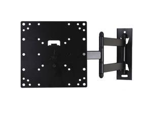 VideoSecu Articulating Full Motion Tilt Swivel TV Monitor Wall Mount for Samsung 22-42 inch LCD LED HDTV - Low Profile/ Long Extension 3KB