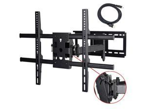 VideoSecu Tilt Swivel Extend Heavy Duty TV Wall Mount for Sony 55 60 65 inch XBR-55X800B KDL60R510A KDL-60R510A XBR-65X800B LCD LED HDTV UHD Plasma Full Motion Articulating Arm TV Mount Bracket A37