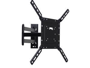 VideoSecu Full Motion Swivel Tilt TV Wall Mount for Samsung 22 28 29 32 39 40 42 43 46 47 48 50 inch LED UHD HDTV with VESA 400x400/ 200x200mm CB6