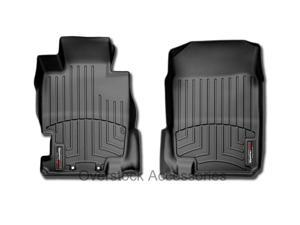 2003-2010 Hummer H2 NO SUT Floor Mats WeatherTech Digital Fit Front Liner Black