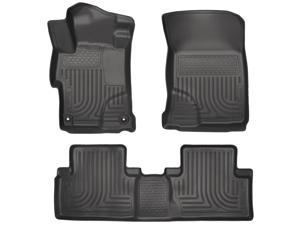 Husky Liners Weatherbeater Series Front & 2Nd Seat Floor Liners 99441 2014-2015  Honda Civic