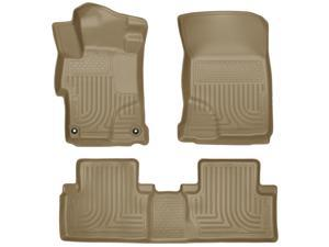 Husky Liners Weatherbeater Series Front & 2Nd Seat Floor Liners 99443 2014-2015  Honda Civic