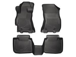Husky Liners Weatherbeater Series Front & 2Nd Seat Floor Liners 99671 2015 Subar Subaru Legacy
