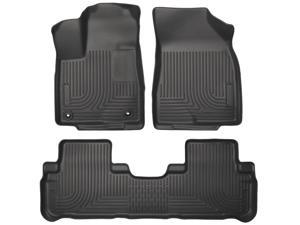 Husky Liners Weatherbeater Series Front & 2Nd Seat Floor Liners 99601 2014-2015  Toyota Highlander