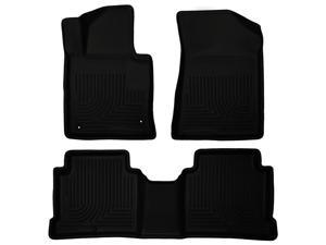 Husky Liners Weatherbeater Series Front & 2Nd Seat Floor Liners 99631 2015 Hyund Hyundai Sonata