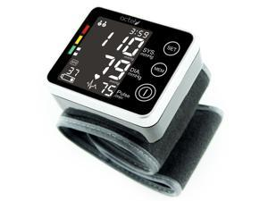 Wrist Blood Pressure Monitor - Touch Screen Blood Pressure Monitor with Arrhythmia Indicator