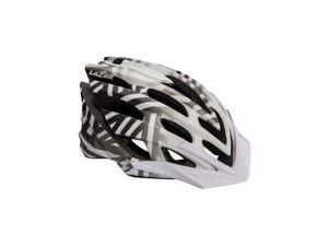 Lazer Nirvana Helmet: White and Gray LG