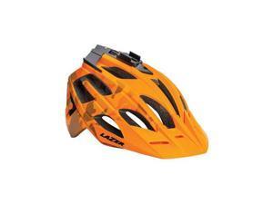 Lazer Oasiz Helmet: Orange Camouflage MD