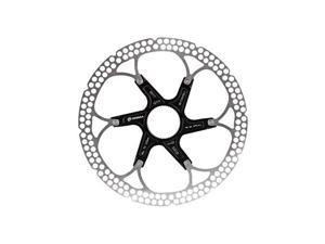 Formula Al Cr 2-Piece Disc Rotor Black 180mm Centerlock