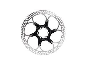 Formula Al Cr 2-Piece Disc Rotor Black 180mm 6 bolt