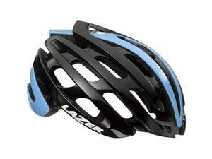 Lazer Z1 Helmet: Black/Belgian Blue LG