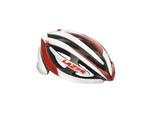 Lazer Genesis Helmet: White and Red LG