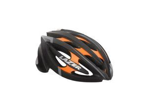 Lazer Genesis Helmet: Black and Flash Orange LG