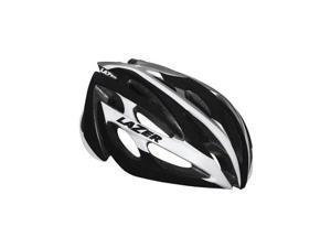 Lazer O2 Helmet: White and Black MD/LG Unisize
