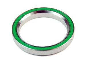 """Wheels Manufacturing 1.5"""" 45 x 45 degree Stainless Steel Angular Contact Bearing 40mm ID x 52mm OD x 7mm wide"""