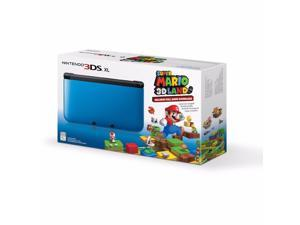 Red Nintendo 3DS XL with (Pre-installed) Super Mario 3D Land Game System Console