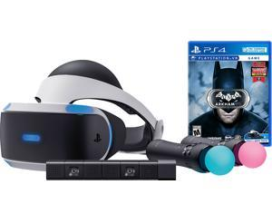 Sony PlayStation VR Batman Starter Bundle 4 items:VR Headset,Move Controller,PlayStation Camera Motion Sensor, Batman: Arkham VR