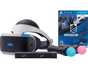 Sony PlayStation VR DriveClub Starter Bundle 4 items:VR Headset,Move Controller,PlayStation Camera Motion Sensor, PSVR DriveClub