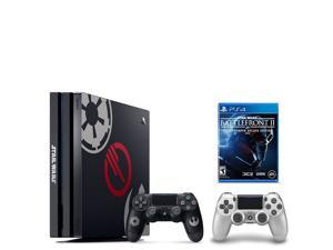 PS4 Star Wars Bundle (2 Items): PlayStation 4 Pro 1TB Limited Edition Console - Star Wars Battlefront II Bundle and an Extra PS4 Dualshock 4 Wireless Controller