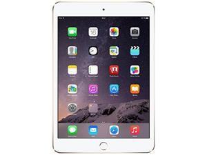 Apple iPad Mini 3 MH3N2LL/A (128GB, Wi-Fi + Cellular) 4G LTE Unlocked - Gold