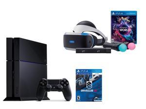 PlayStation VR Bundle 3 Items:VR Bundle,PlayStation 4,VR Game Disc:PSVR DriveClub
