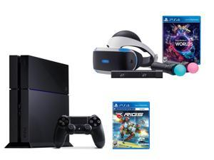 PlayStation VR Bundle 3 Items:VR Bundle,PlayStation 4,VR Game Disc RIGS Mechanized Combat League
