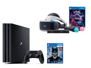 PlayStation VR Bundle 3 Items:VR Bundle,PlayStation 4 Pro 1TB,VR Game Disc Arkham VR