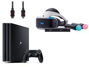 PlayStation VR Start Bundle 4 Items:VR Lauch Bundle,PlayStation 4 Pro 1TB